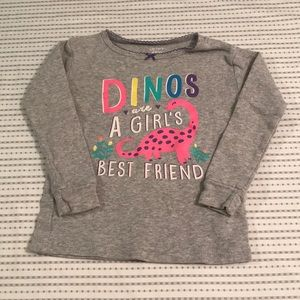 CARTER'S - Dinosaur Long Sleeve T-Shirt
